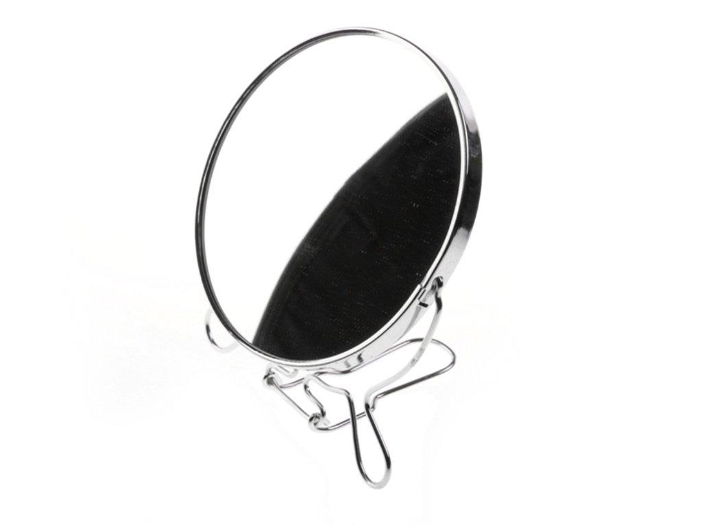 Kosmetické zrcadlo průměr 14 cm oboustranné 1769414