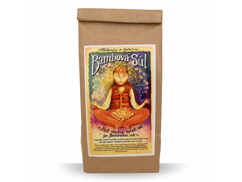 Bambova bylinná sůl 300g