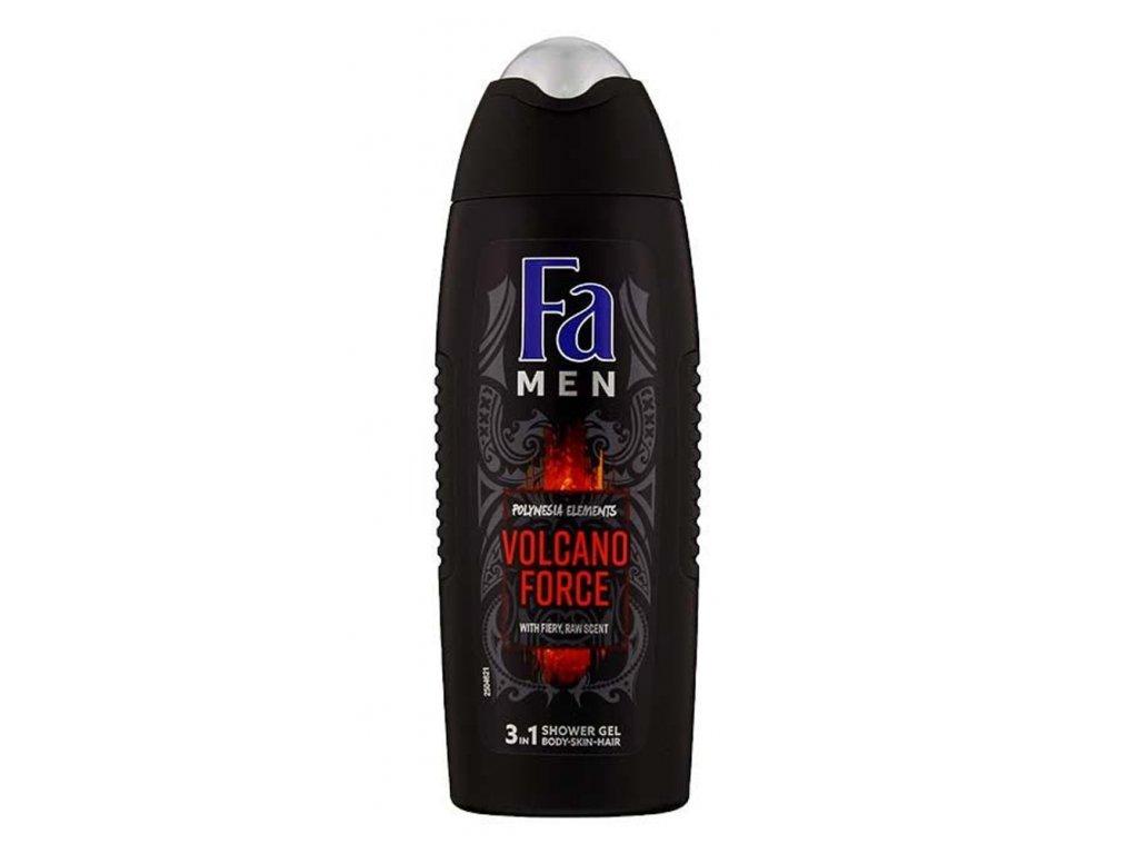 FA Pánský sprchový gel a šampon Volcano Force 250 ml 2