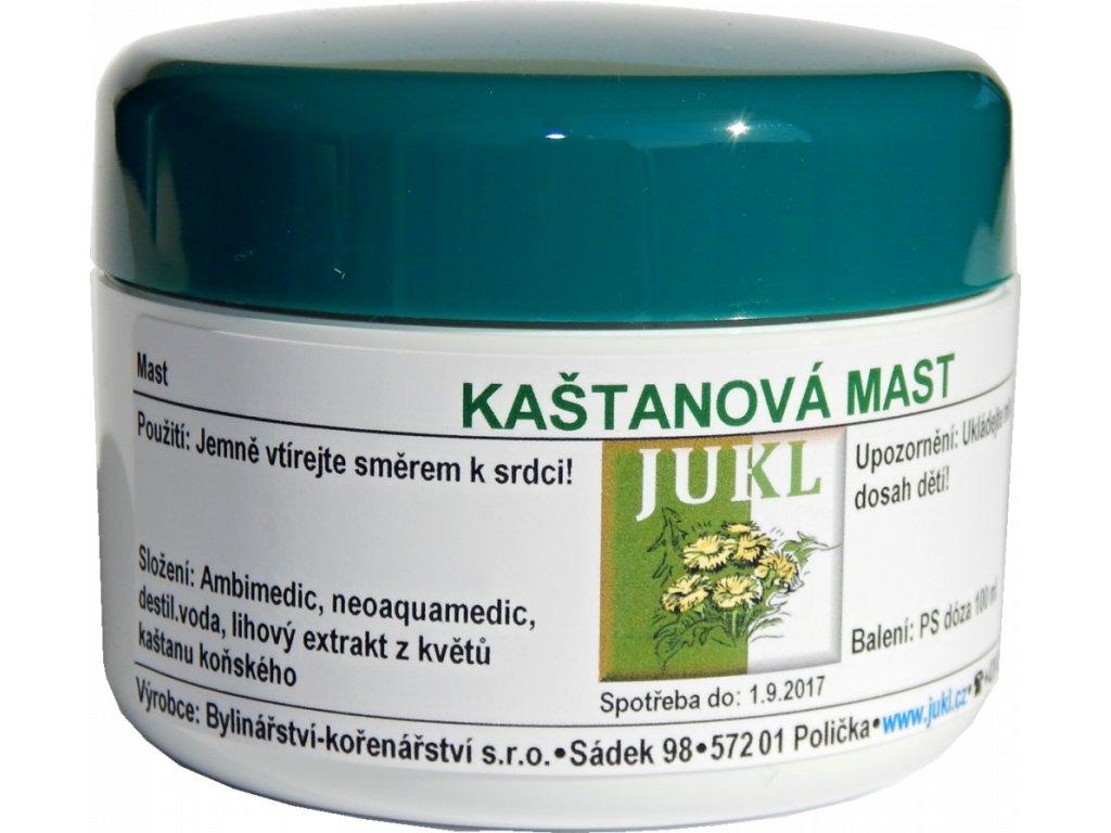 Kaštanová mast JUKL 100ml