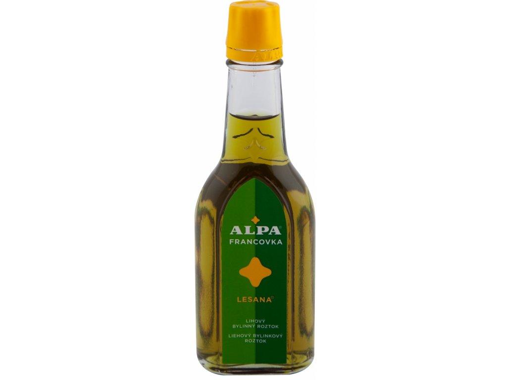 Alpa Francovka bylinný lihový roztok Lesana 60 ml