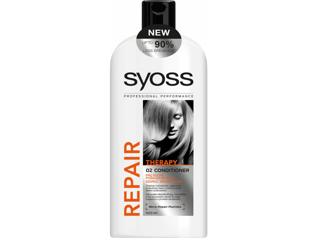 Syoss Repair Therapy Conditioner pro hloubkovou regeneraci 500 ml