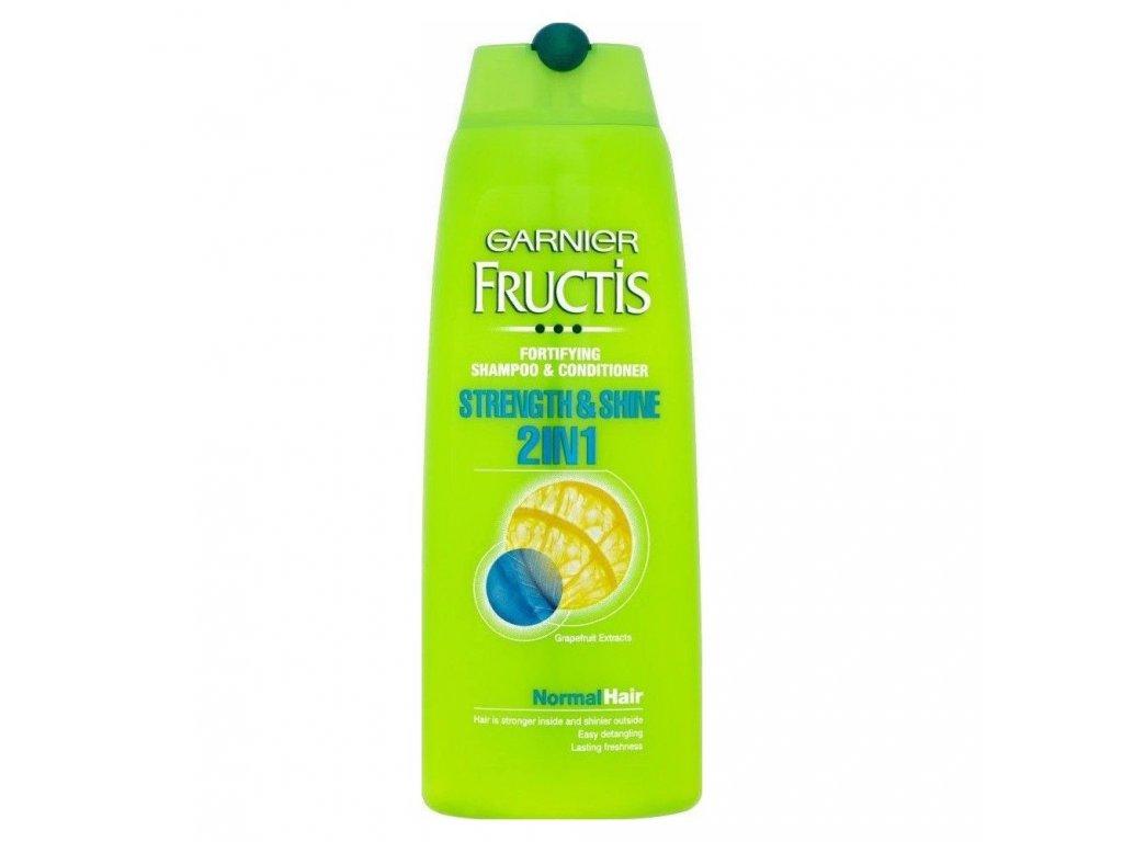Fructis šampon Strength Shine 2v1 250ml