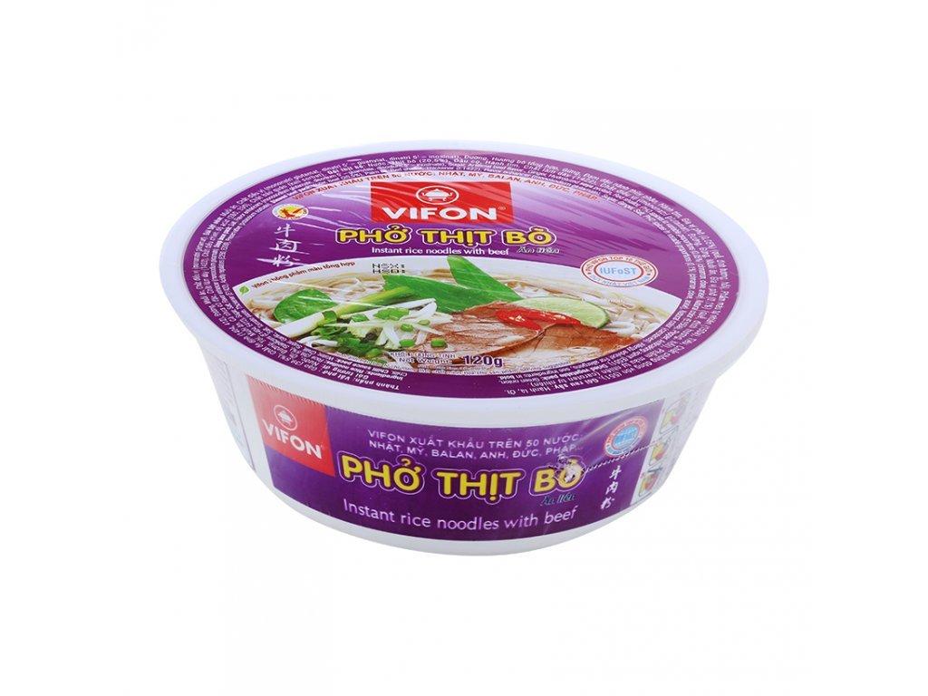 Vifon polévka s hovězí příchutí 120g instantní Vietnamská polévka s pravým masem