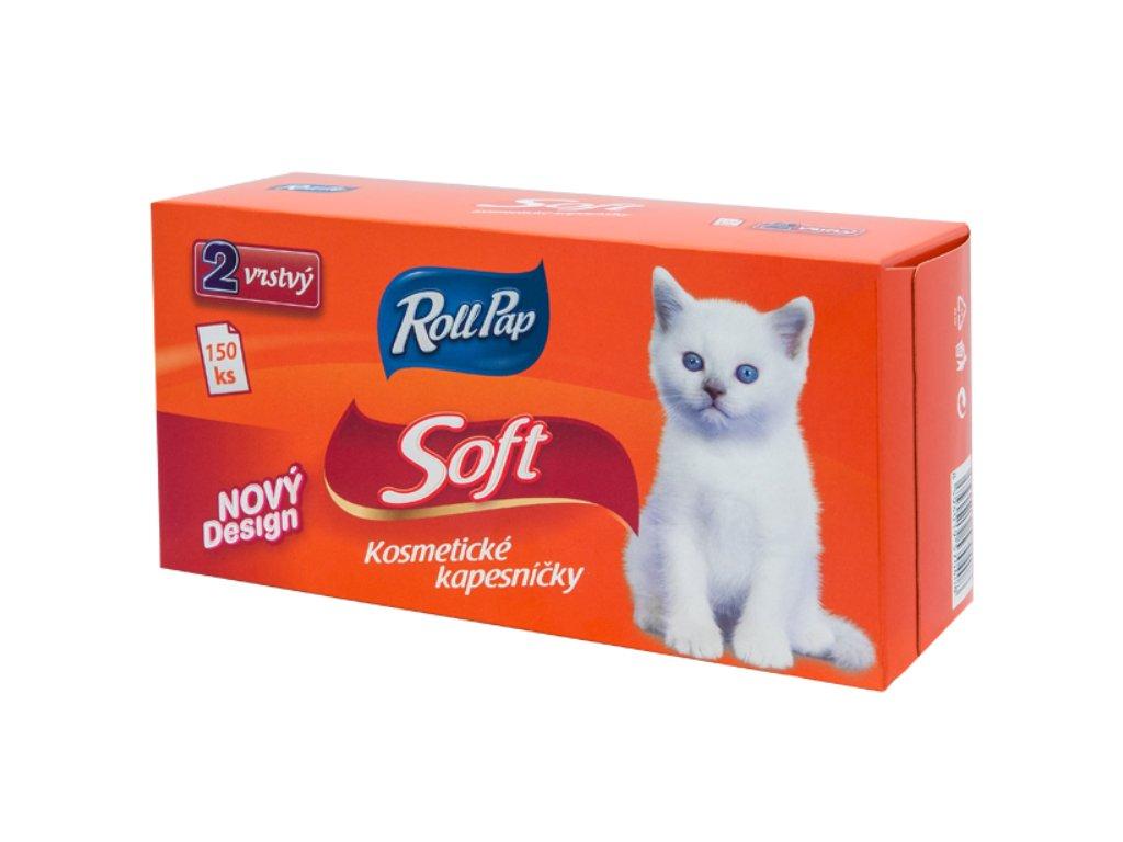Kosmetické utěrky Soft 150 ks