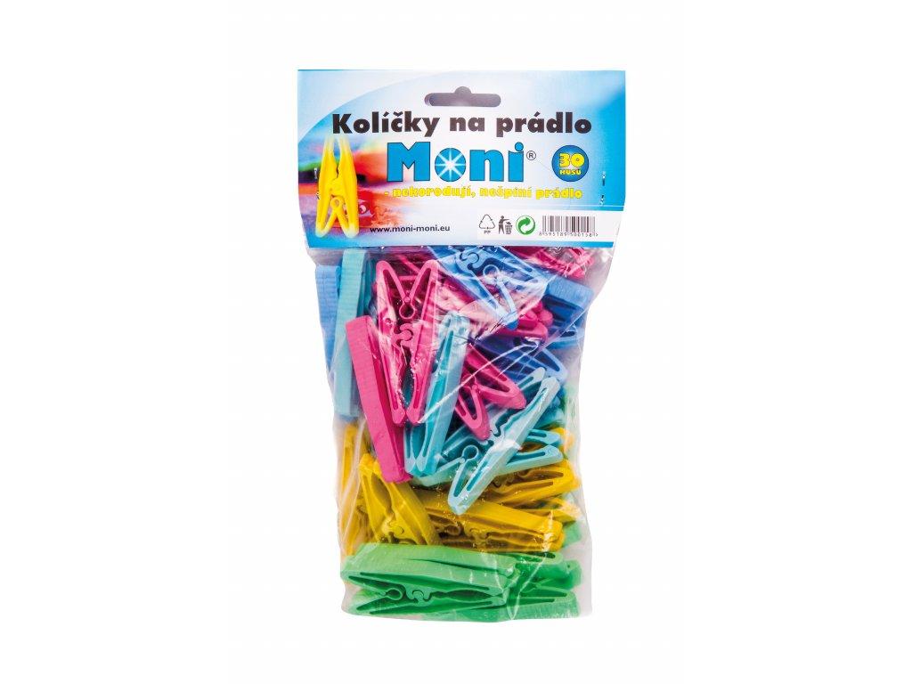 Plastové kolíčky 30 ks Moni
