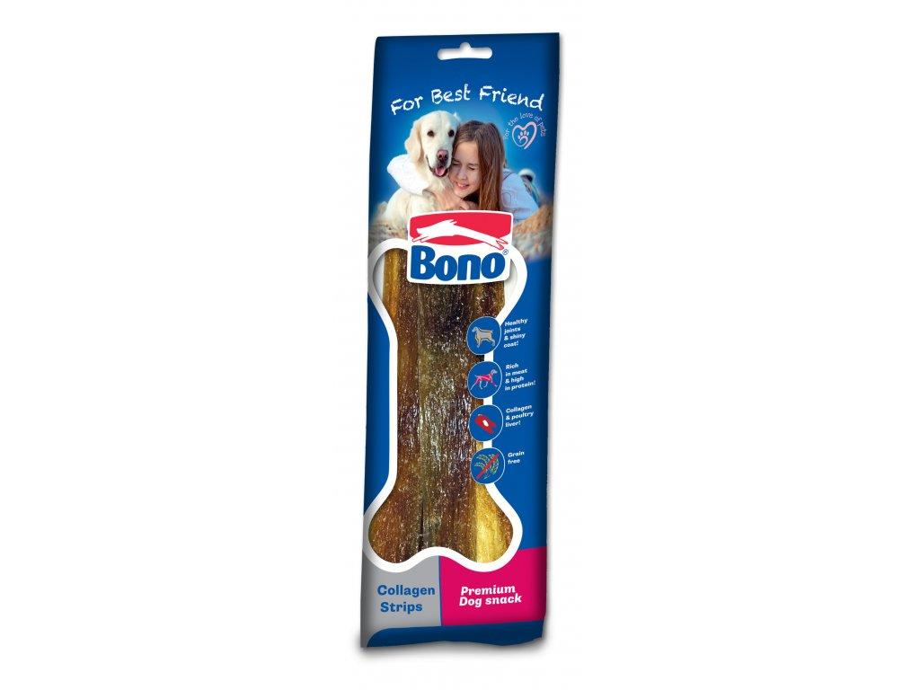 Bono kolagenové pásky 60g