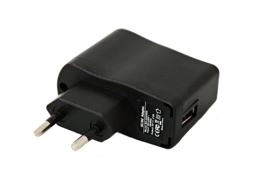 USB nabíjecí adaptér 5V 2.0A