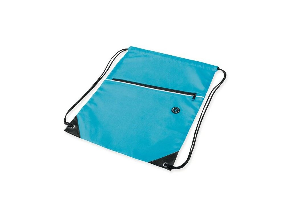 Stahovací batoh na záda modrý