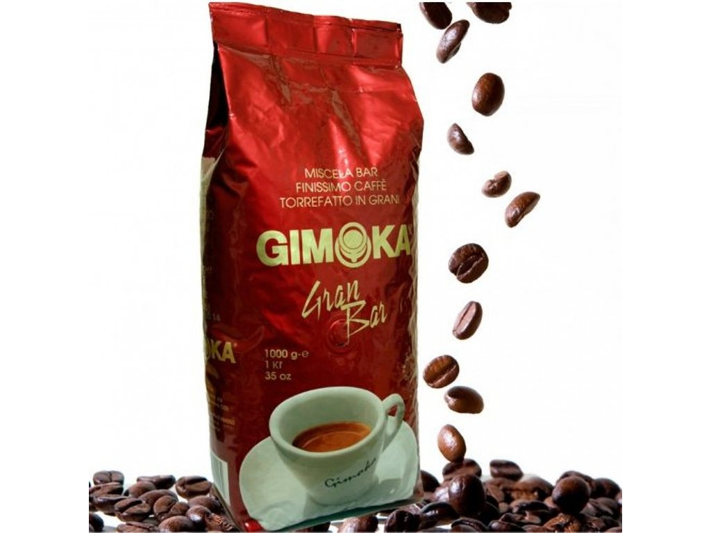 Kava zrnková Gimoka 1000g