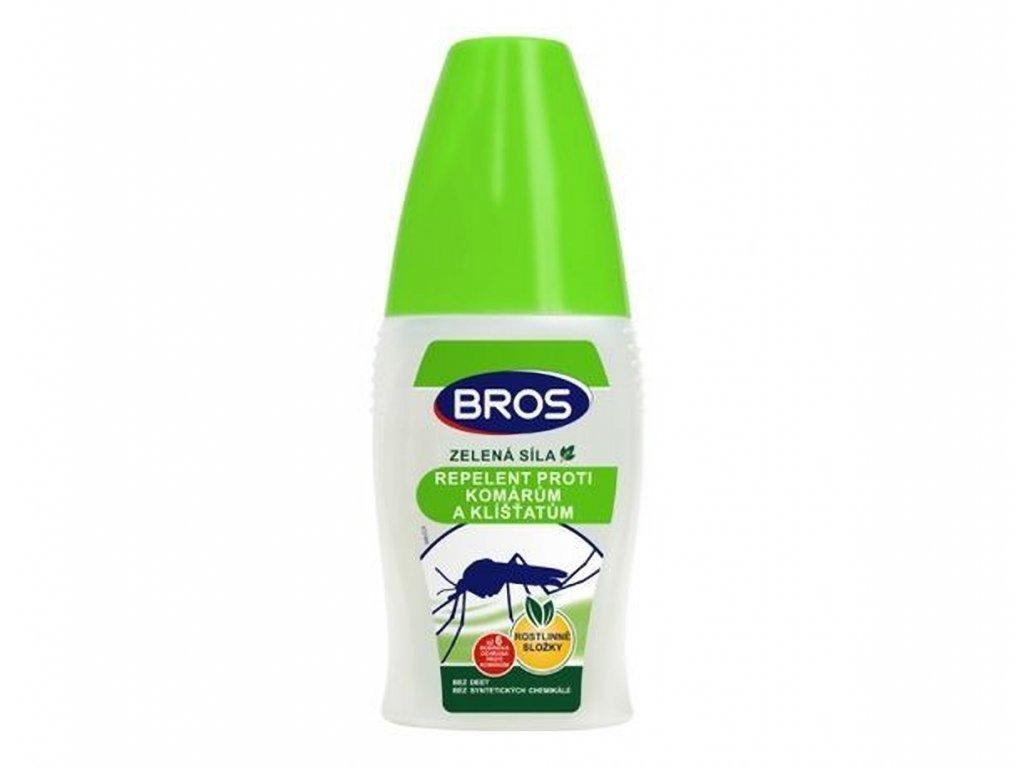 BROS zelená síla proti komárům a klíšťatům 50 ml