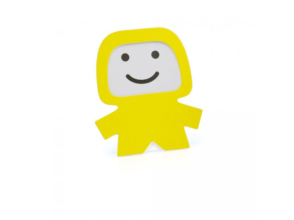 Rámeček na fotografii pro děti žlutý
