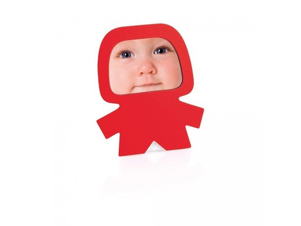 Rámeček na fotografii pro děti červený
