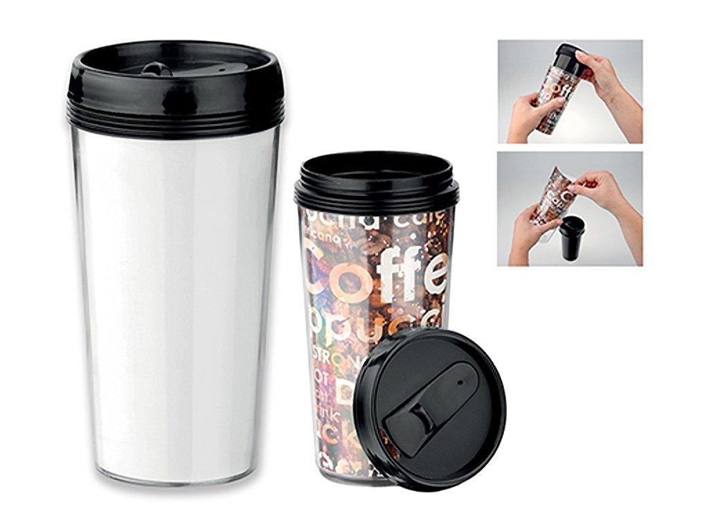 Termohrnek s možností vložit fotografii nebo obrázek