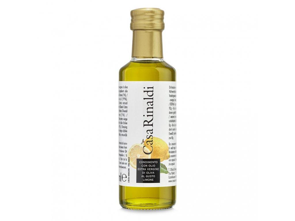 Olivový olej extra vergine 100ml s citronovým aroma