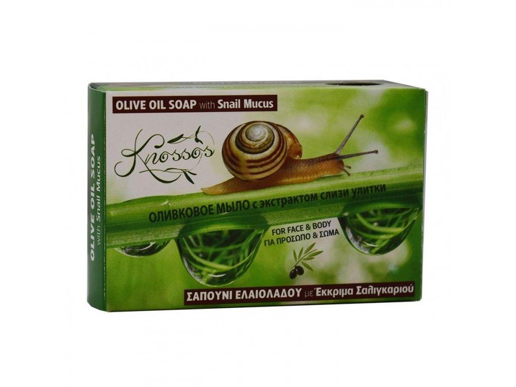Olivové mýdlo s hlenem I