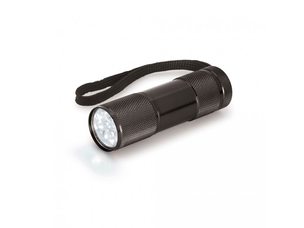 Svítilna kovová 9 LED MILDRED