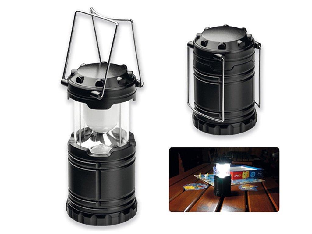 Lucerna lampička LED skládací