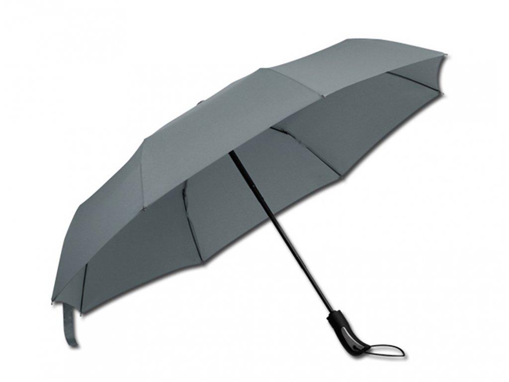 CAMPANELLA deštník skládací s funkcí open close šedý