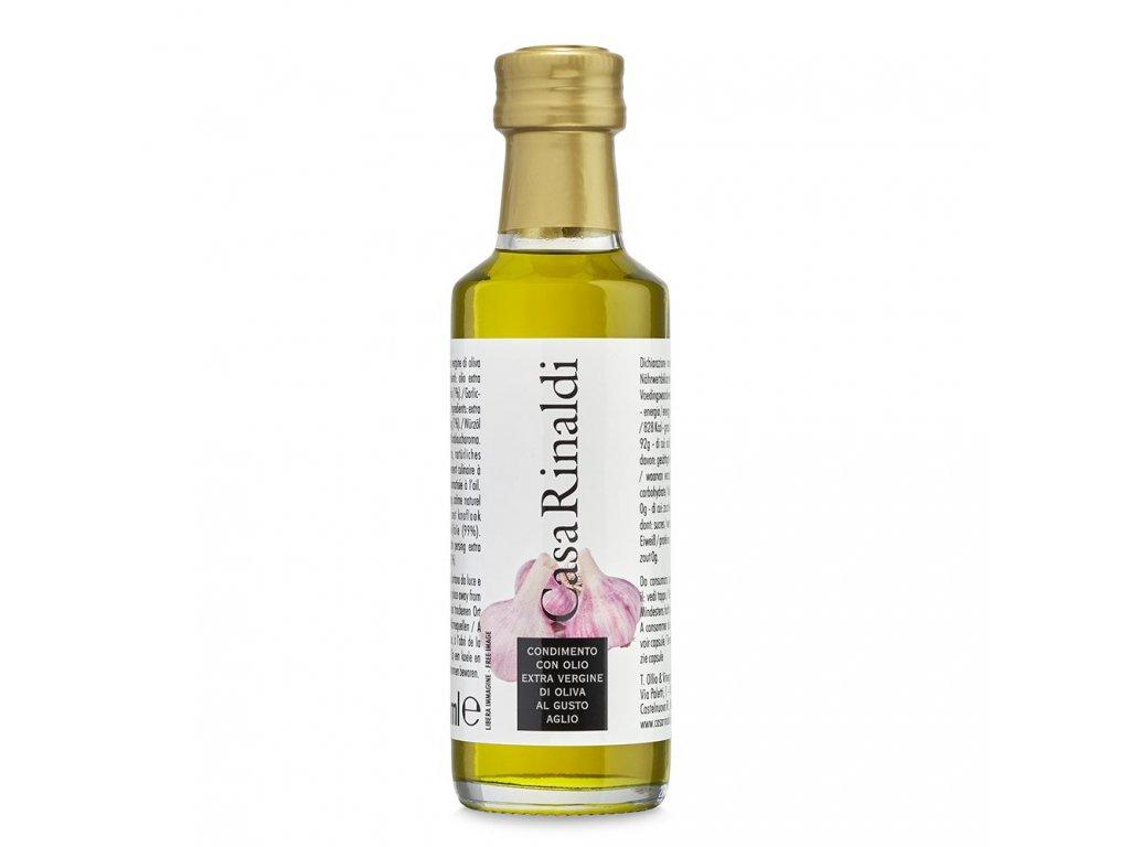 Olivový olej extra vergine 100ml s česnekovým aroma
