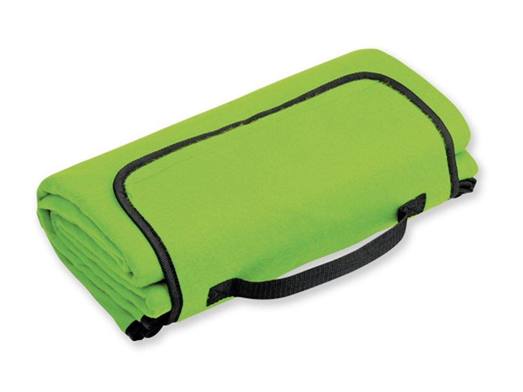 PAT cestovní fleecová deka, spodní strana voděodolná