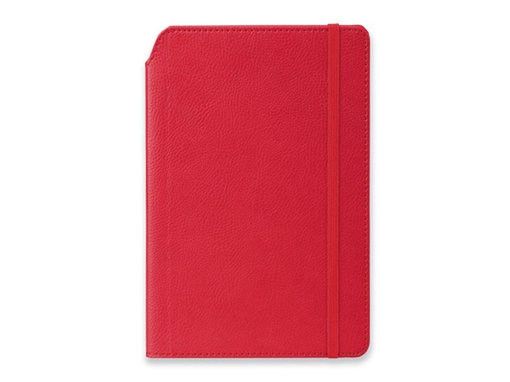 MORIAH poznámkový zápisník s gumičkou 140x210 mm
