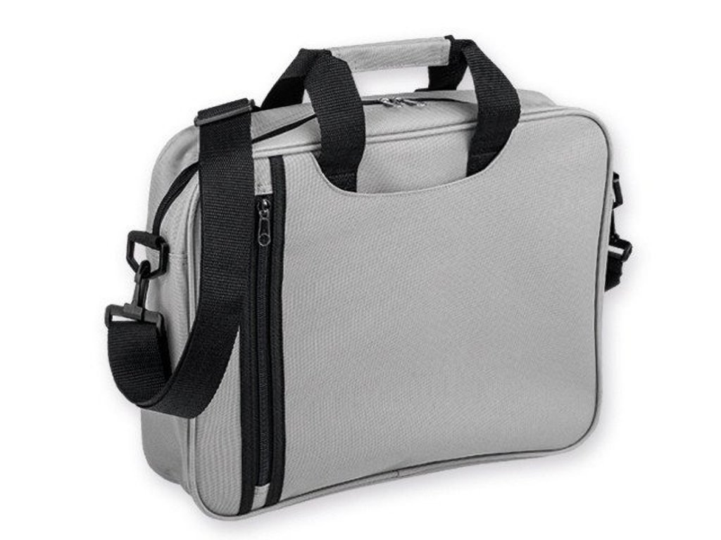 GARBI polyesterová taška na dokumenty, 600D, Světle šedá