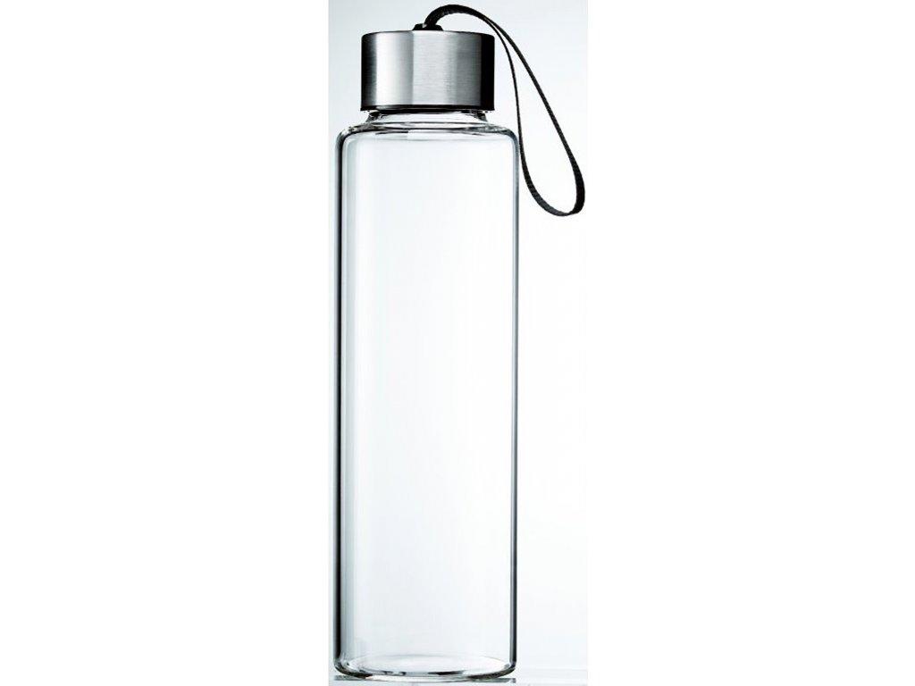 Skleněná láhev na vodu