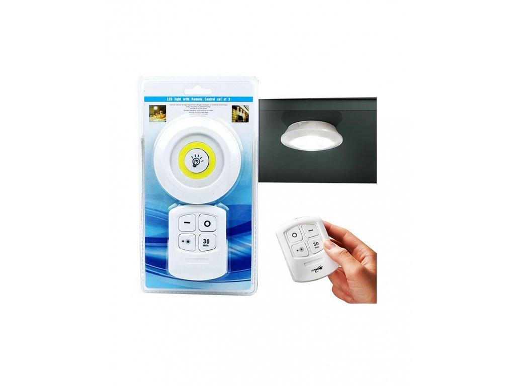 COB LED bateriové svítidlo s dálkovým ovladačem