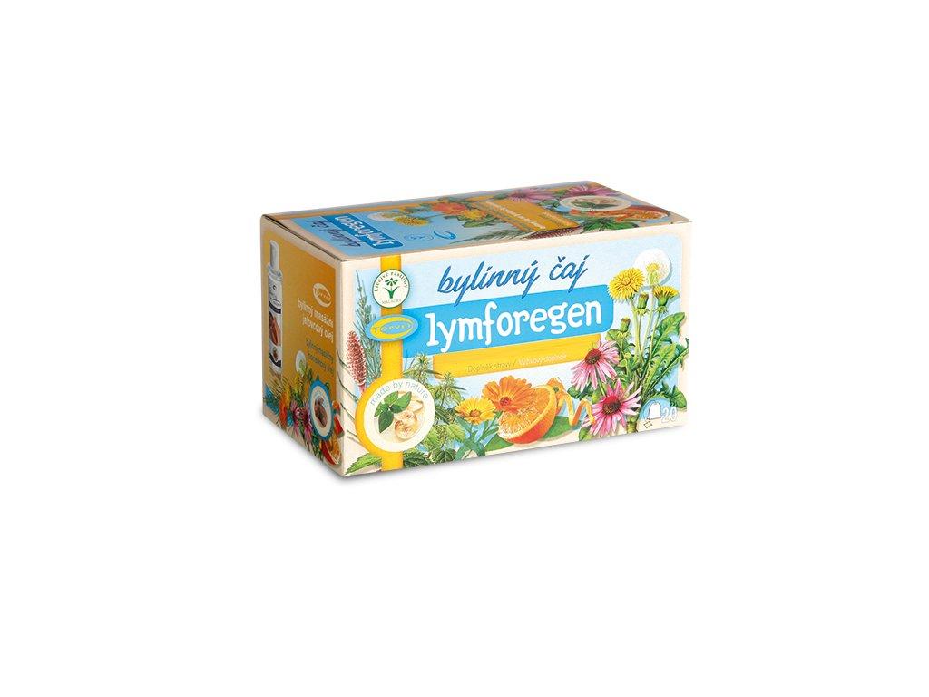Lymforegen čaj na lymfatický systém