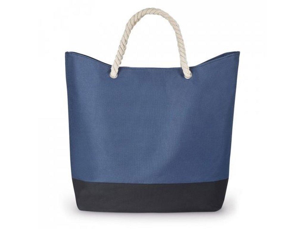 KENZA plážová taška modrá