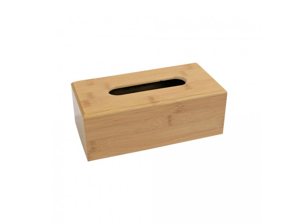Bambusová krabička na kapesníky