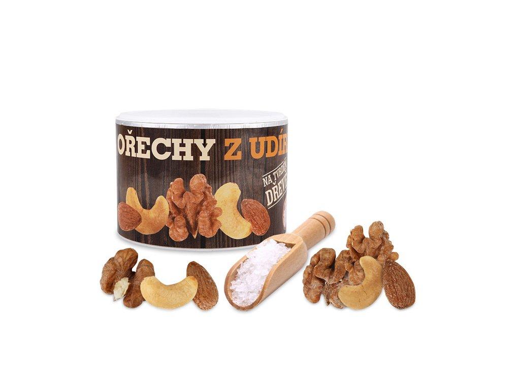 Ořechy z udírny 170g