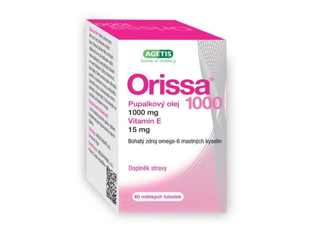 Orissa Pupalkový olej 1000mg