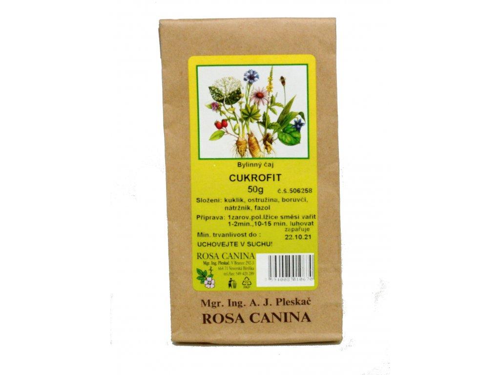Bylinný čaj Cukrofit 50g