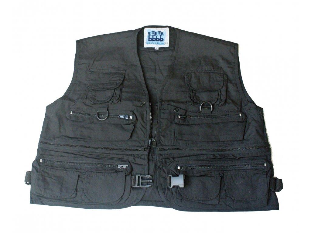 Rybářská vesta Fourseas Brothers vnější část