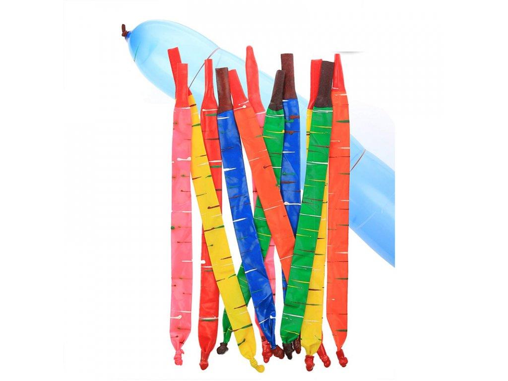 Balónky Rocket barecné 15 ks + 6 tub