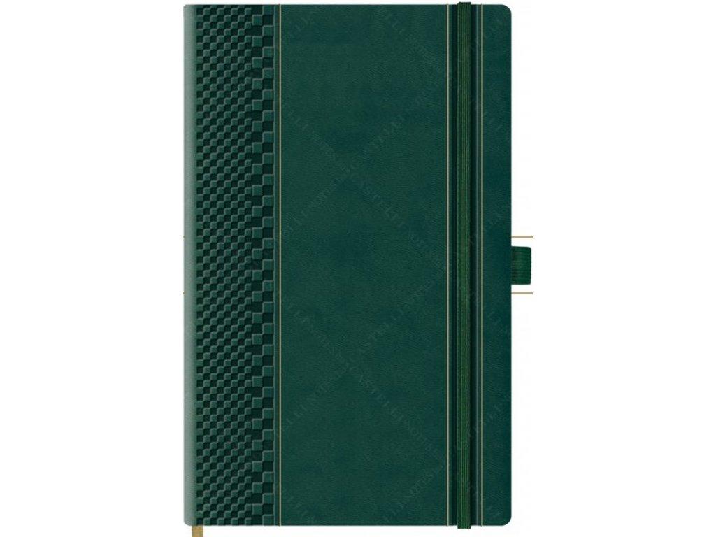 Skakko Matto zápisník zlatá edice green R