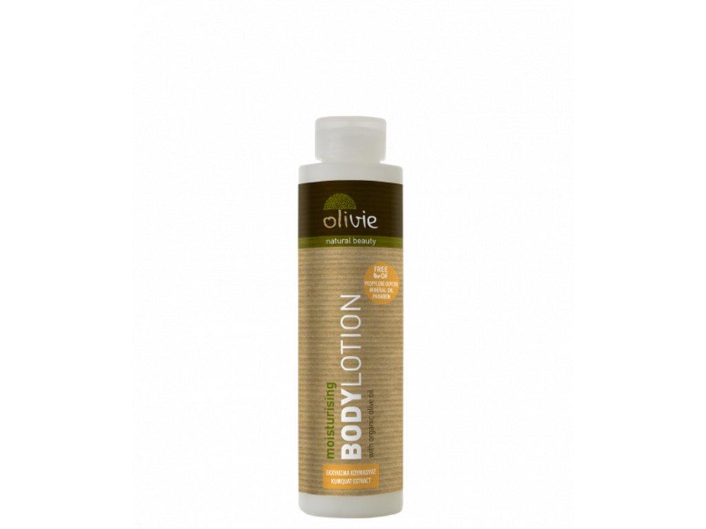 Olivie zvlhčující pleťové mléko s organickým olivovým olejem a extraktem kumquat 200ml