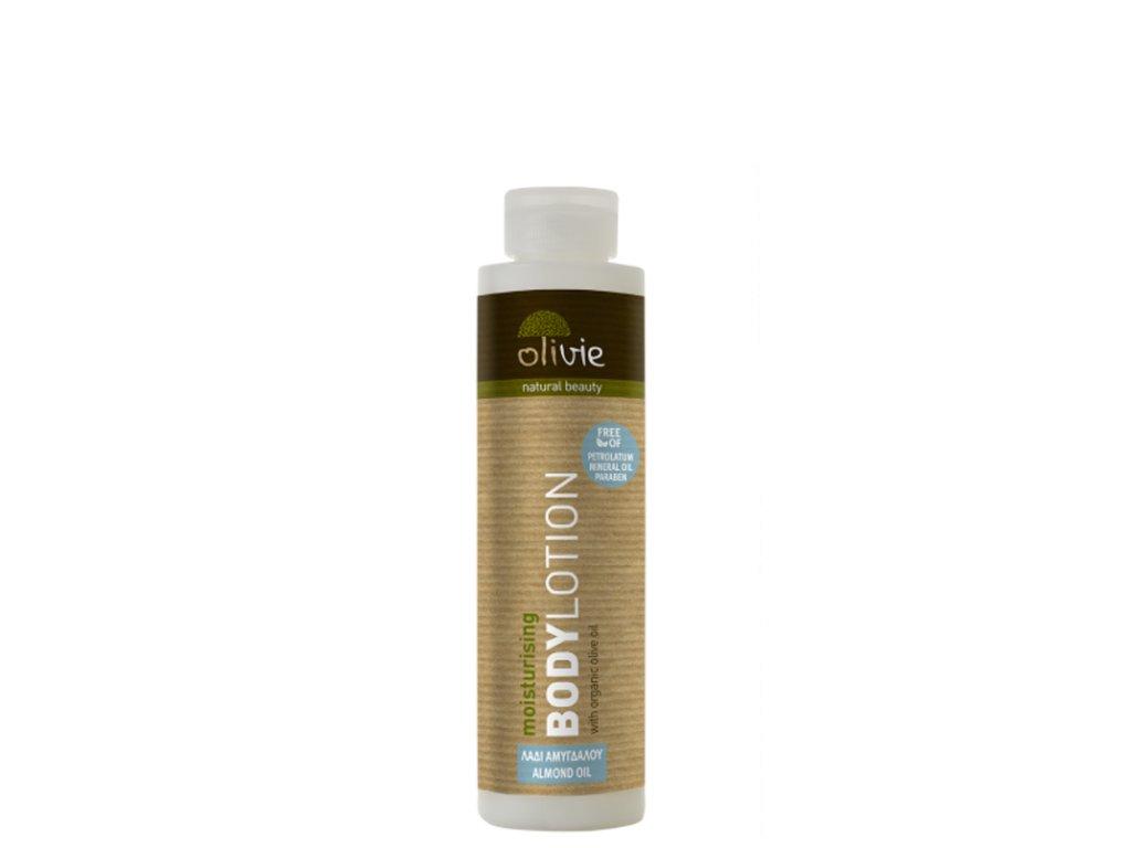Olivie zvlhčující pleťové mléko s organickým olivovým olejem a mandlovým olejem 200ml