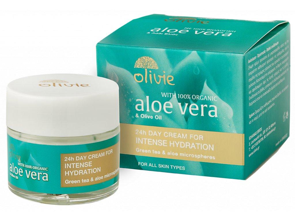Olivie Aloe Vera intenzivní hydratace 24h denní krém 60ml
