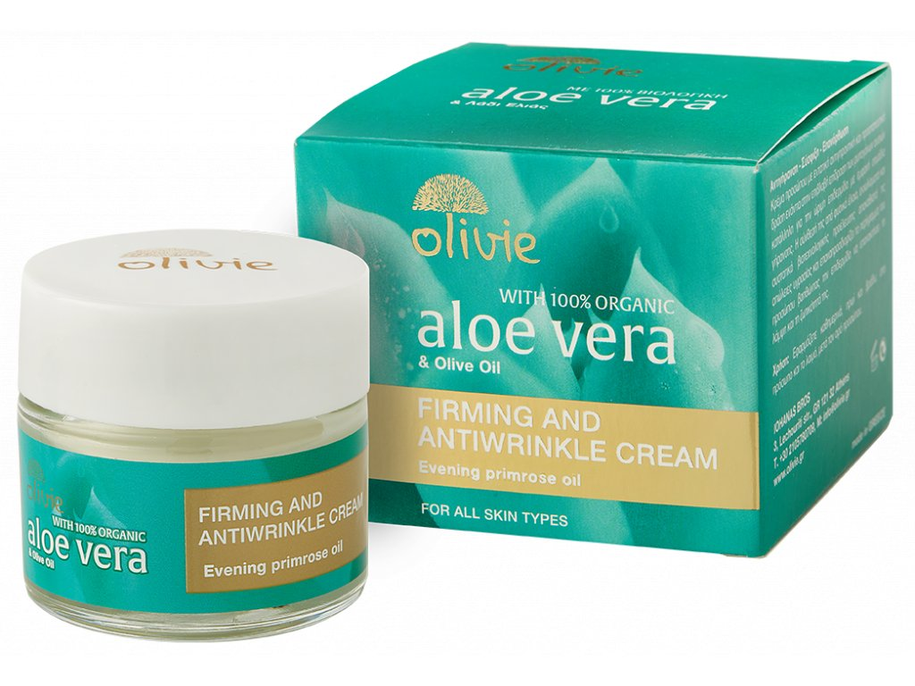 Olivie Aloe Vera FIRMING & ANTIWRINKLE CREAM 60ml