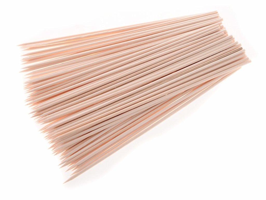 Dřevěné špejle 20 cm 100 ks 2330194
