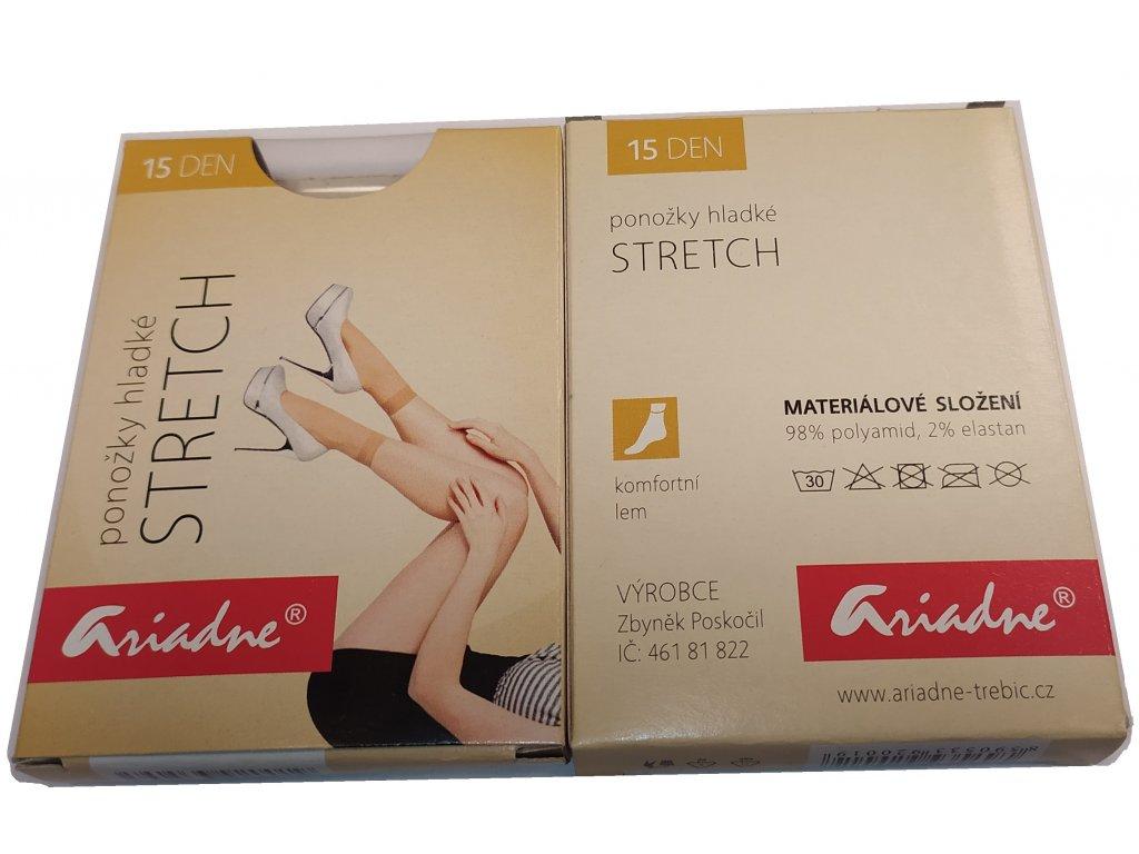 Ponožky hladké Stretch 15dní
