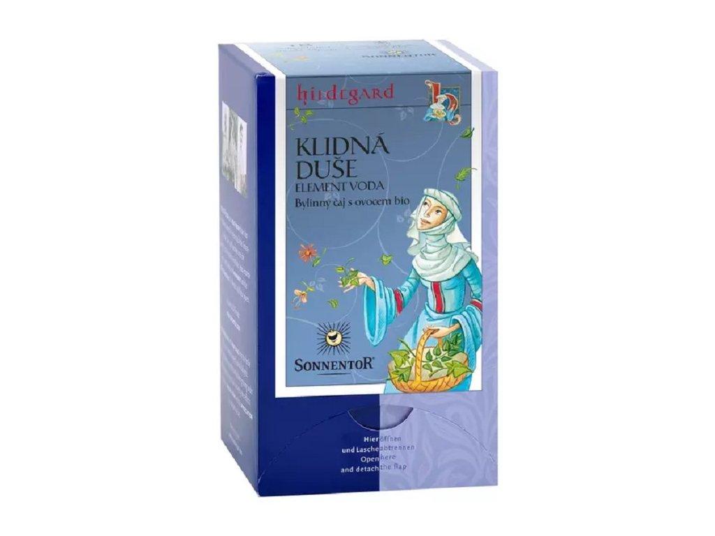 Čaj bylinný s ovocem Klidná duše 27g porcovaný