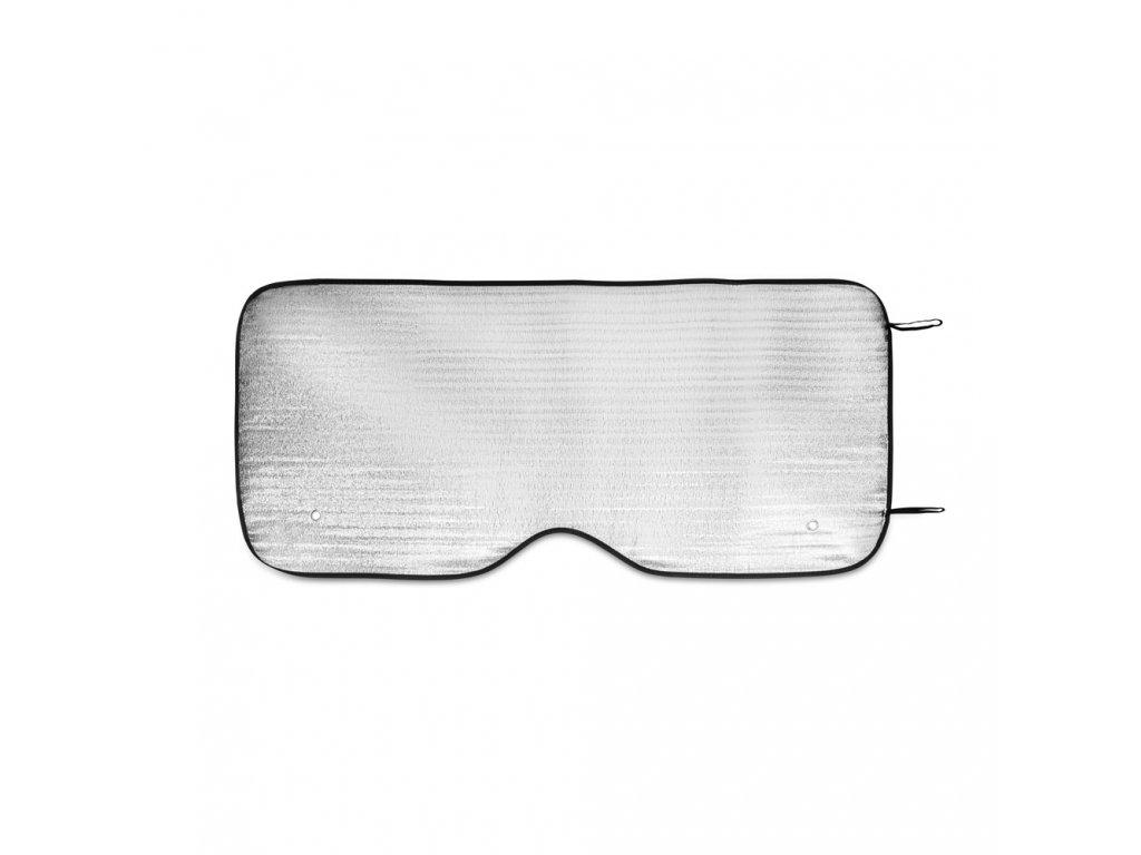 84001 19 SHIELD aluminiová ochranná fólie na čelní sklo auta, stříbrná