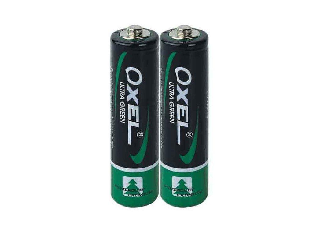 Baterie tužková, OXEL, R6 (AA)
