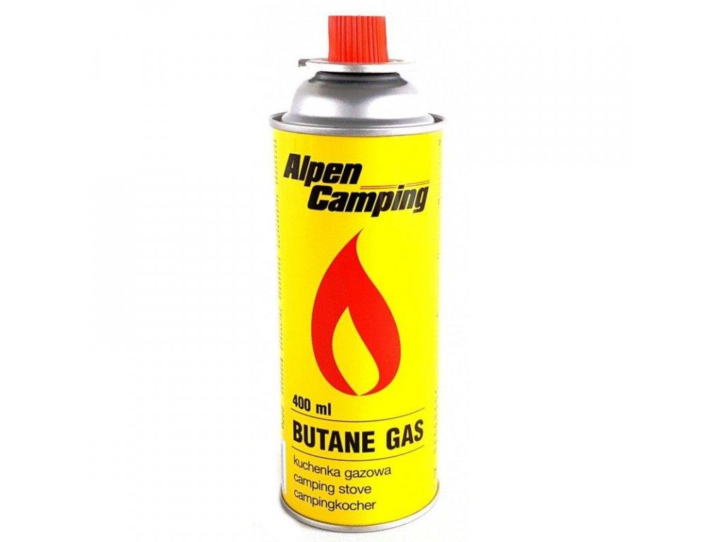 Plynová náplň, Butane GAS kartuš Aplen Camping, 400ml
