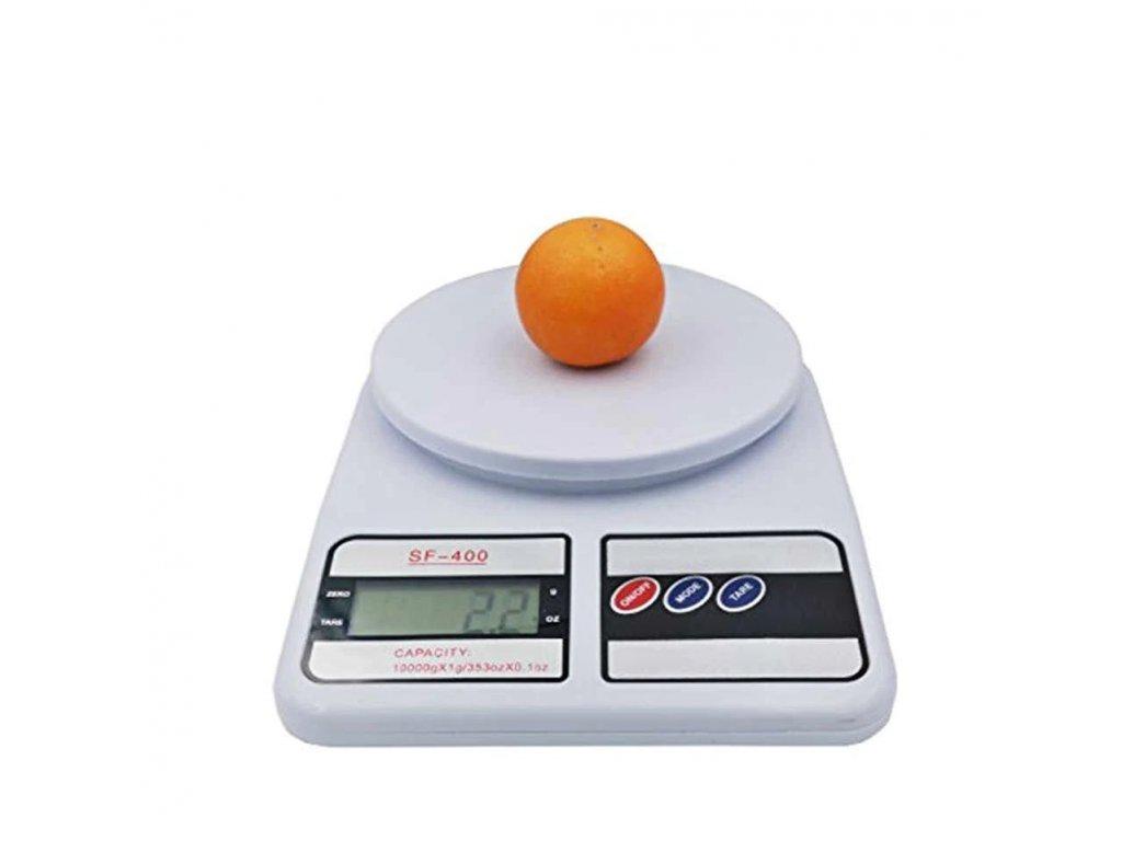 Kuchyňská váha SF 400 do 5kg s rozlišením po 1g 1