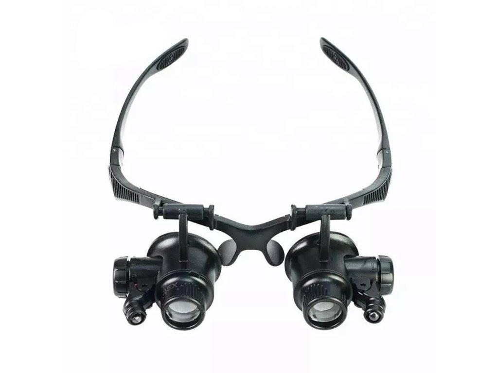 Brýle s vyměnitelnými čočkami lupami pro práci 9892G 2